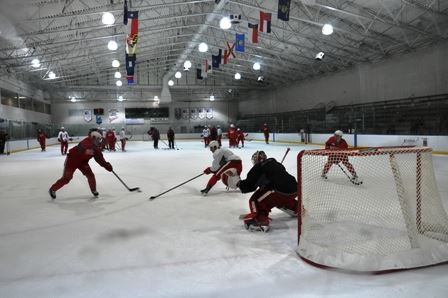 Red Wings practice 1 web