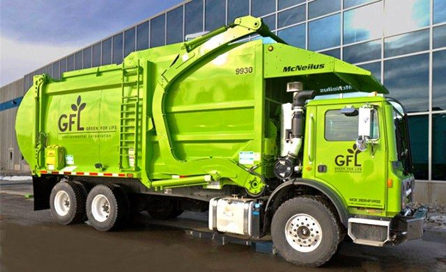 Green for Life Garbage Truck