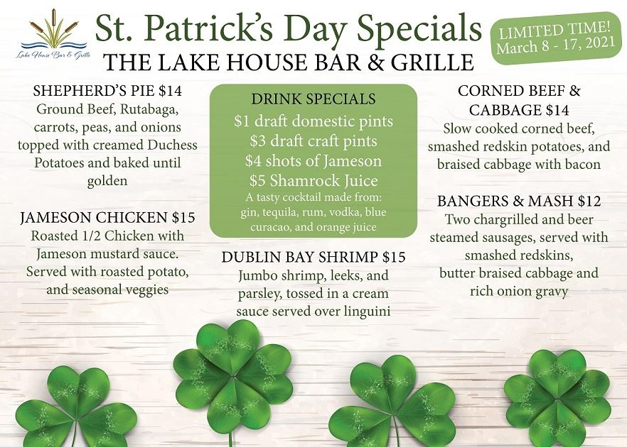 st paddy day specials 2021